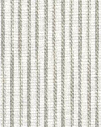 Farmhouse Ticking Stripe Fabric Taupe Ivory