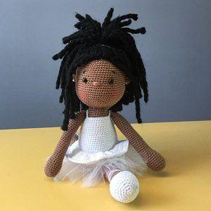 Amigurumi Crochet Doll Tammy The Little Ballerina Pdf Download