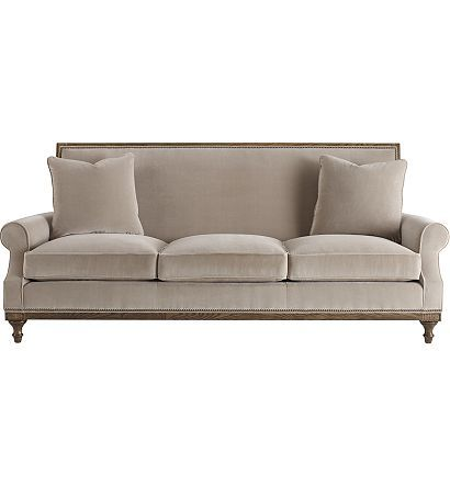 Pierre Sofa From The David Phoenix Collection By Hickory Chair Furniture Co Hickory Chair Sofa Furniture Chair
