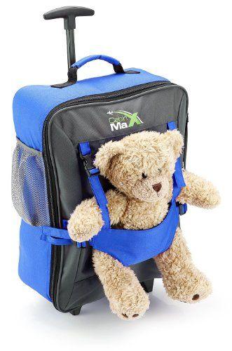Cabin Max Handgepäckstück Kinder Koffer Trolley Blau Kindertrolley Kinderkoffer  Cabin Max  Geben Sie die erste Bewertung für diesen Artikel ab Like (0)  Preis: EUR 30,00  Angebot: EUR 29,95