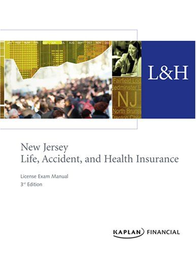Download Pdf New Jersey Life Accident Health Insurance License