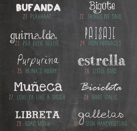 30 Tipografías De Pizarra Para Descargar Gratis Oye Juanjo Tipografía Para Pizarra Letras Pizarra Fuentes De Letras