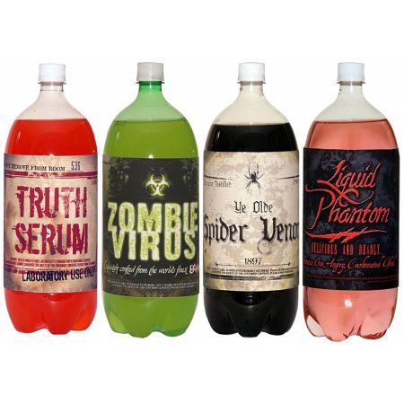 Halloween Slapsticker Soda Adult Decoration