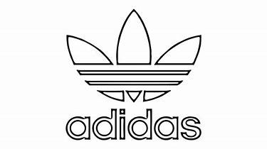 Image Result For Adidas Logo Adidas Drawing Logo Outline Cartoon Coloring Pages