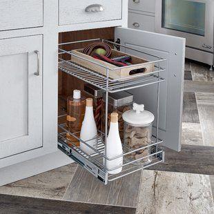Cabinet Organizers You Ll Love Wayfair Kitchen Cabinet Pulls Pull Out Drawers Kitchen Cabinet Organization