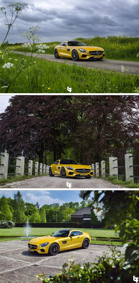 Summer paradise! Photos by Bas Fransen (www.basfransen.com).  [Mercedes-AMG GT S | combined fuel consumption 9.6-9.4 l/100km | combined CO2 emission 224-219 g/km | http://mb4.me/efficiency_statement]