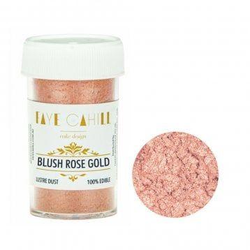 Blush Rose Gold - 22ml Luxury Edible Lustre Dust Food Icing