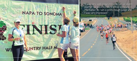 Napa to Sonoma Wine County Half Marathon 7-2014