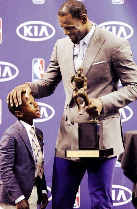 LeBron James & LeBron JR