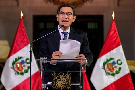 """Peruvian President Martín Vizcarra announced the dissolution of the opposition-dominated parliament and early elections in a television speech on Monday. The parliamentary and presidential elections would typically take place on April 2021. A few hours later, however, the parliament suspended the president for a year. """"No agreement is possible with the opposition,"""" the president justified … The post Who is the boss in Peru? Parliament suspends president appeared first on Afrinik."""