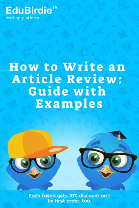 How to Write an Article Review: Guide with Examples