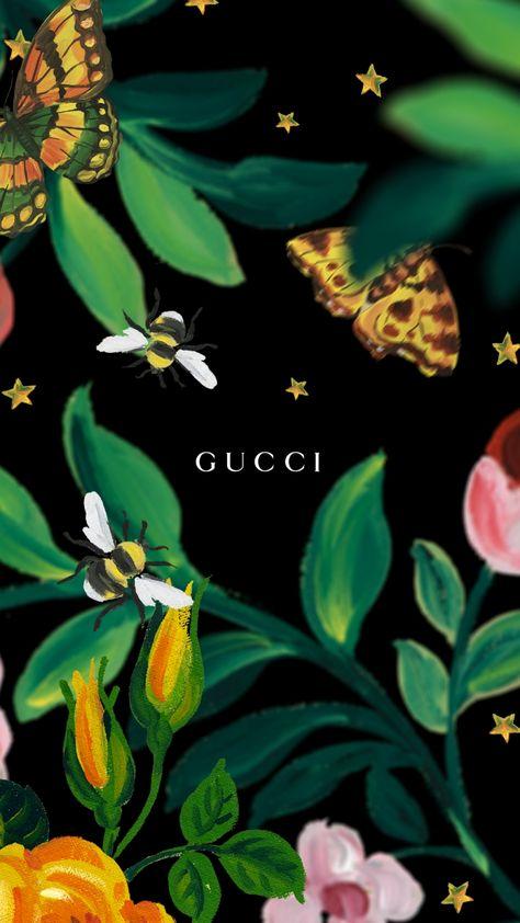 gucci screensaver iphone smartphone garden