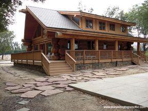Custom Log Homes Picture Gallery Log Cabin Homes Pictures Bc Canada Log Homes Cabin Homes Log Cabin Rustic