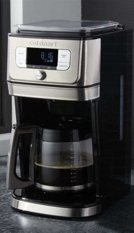 Cuisinart Burr Grind Brew 12 Cup Coffeemaker Reviews Crate And Barrel Coffee Maker Coffee Maker With Timer Cuisinart