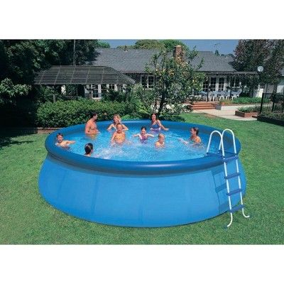 Intex 18 X 48 Inflatable Easy Set Above Ground Pool Set Filter Cartridge 6 In 2021 Easy Set Pools Blow Up Pool Above Ground Swimming Pools