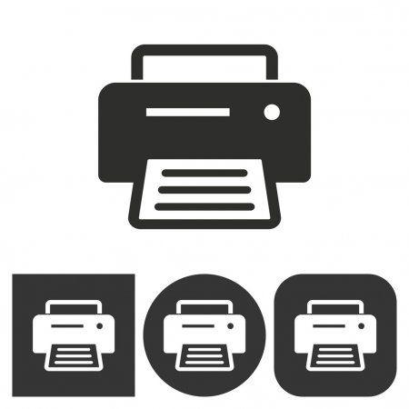 printer vector icon stock vector affiliate vector printer icon vector ad in 2020 printer vector vector icons stock illustration pinterest