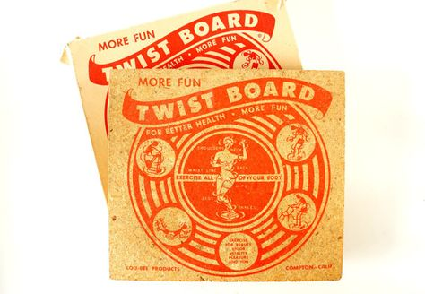 567bbe7d29 Twist Board by Lou-Bee Products 1960s?