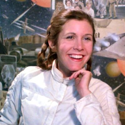 Carrie Fisher Star Wars The Empire Strikes Back Interview Screencaps George Lucas Star Wars Star Wars Film Star Wars Characters