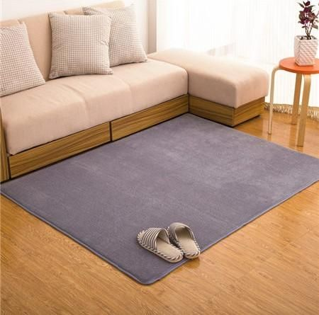 Memory Foam Solid Mat Area Rug Bedroom Rugs Mats Carpet Doormat