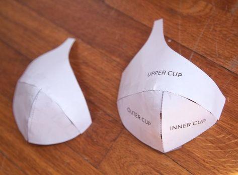 Making a Foam Cup Bra | Cloth Habit: