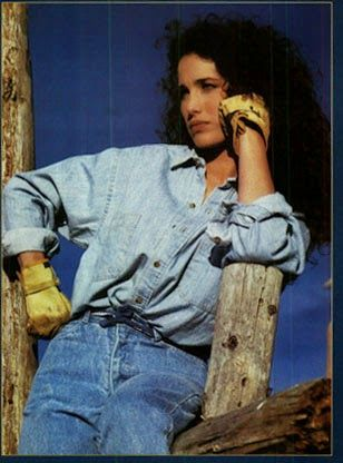 The Gap, American Vogue, March Andie Mc Dowell