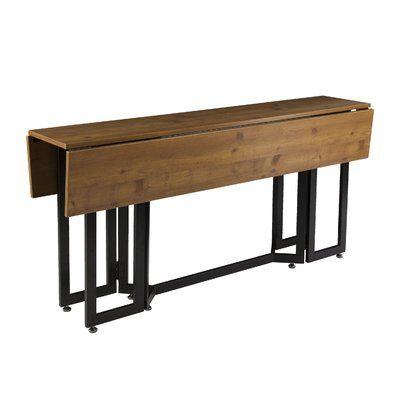 Zipcode Design Adams Drop Leaf Dining Table Drop Leaf Table