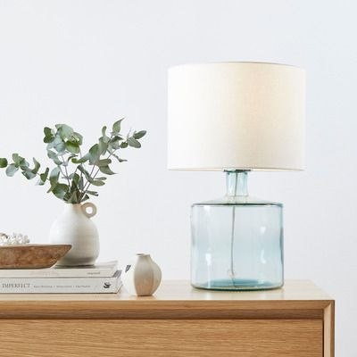 Hamilton Glass Table Lamp Glass Table Lamp Table Lamp Night Table Lamps