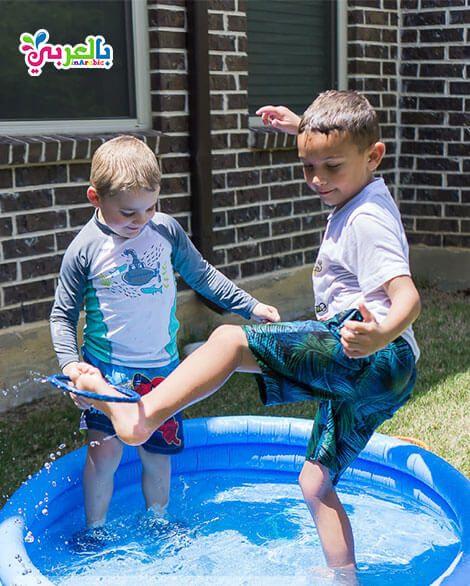 25 فكرة العاب مائية للاطفال للعب طوال فصل الصيف بالعربي نتعلم Sports