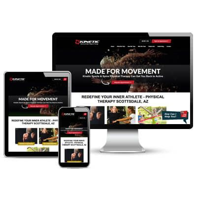 Physical Therapy Web Design Portfolio Practice Promotions Pt Websites Portfolio Web Design Portfolio Design Physics