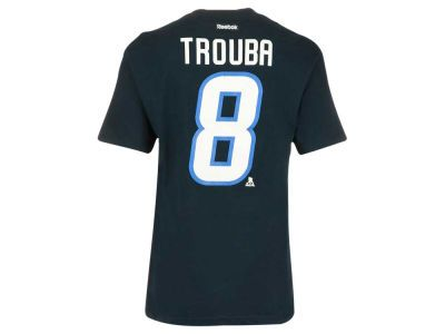 d1a5f868a4a52 Winnipeg Jets Jacob Trouba Reebok NHL CN Player T-Shirt