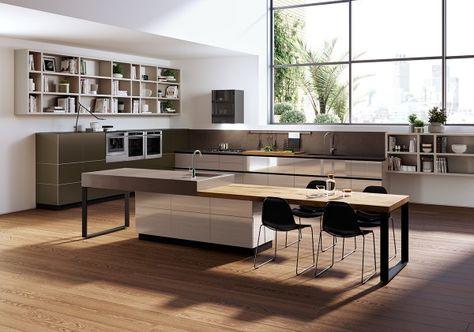 Luxury SieMatic FloatingSpaces Meer keuken woon en speelruimte voor idee n Une aire de jeu pour vos id es siematic be Kitchens Pinterest