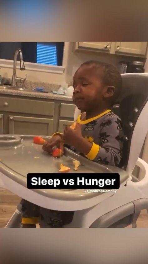 Sleep vs Hunger ..