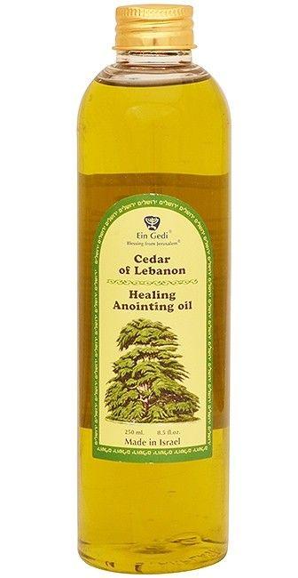 Cedar of Lebanon Anointing Oil - Healing - Made in Israel - 250ml