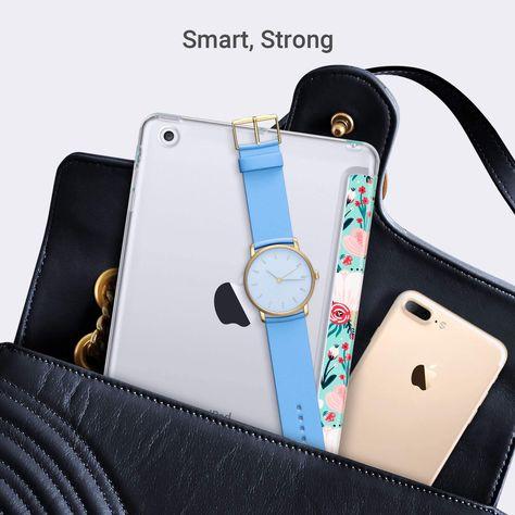 Slim Bumper Smart Case Stand Clear Back Cover for Apple iPad Mini 1/2/3
