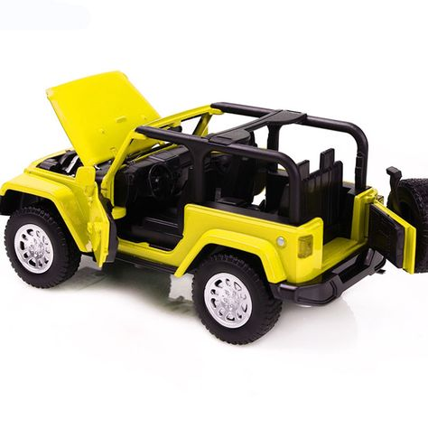 Jeep Wrangler 2014 1:32 Car Model Alloy Diecast Collection Toy Christmas Gifts