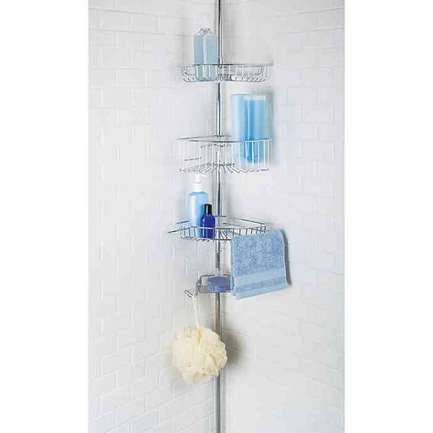 Richards Homewares Lakeview 4 Tier Tension Pole Shower Pole