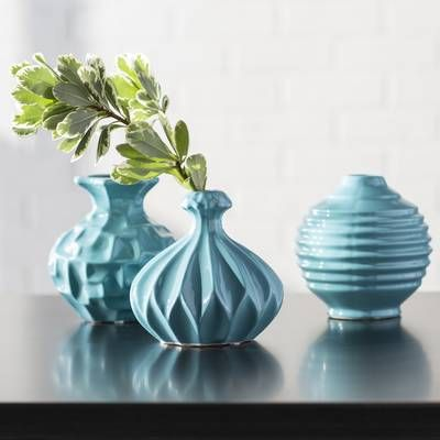 Kayo Textured Ceramic Table Vase Table Vases Ceramic Table Vase Set