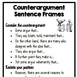 Pin On Teaching Argumentative Essay Sentence Starters Topic Starter Persuasive Writing Gcse Conclusion