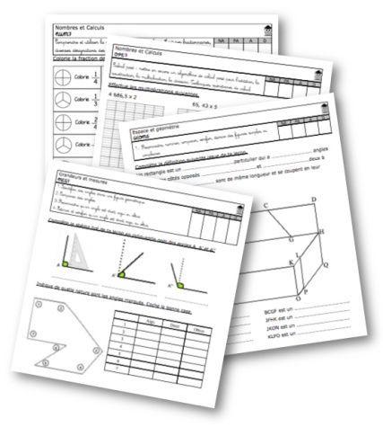 Evaluations Maths Cm2 La Classe De Mallory Bloglovin