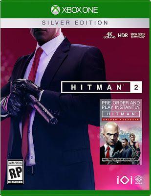 New Games Hitman 2 Pc Ps4 Xbox One Xbox One Xbox Hitman