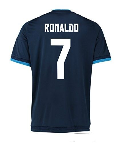 696da21c6 Adidas Ronaldo  7 Real Madrid 3rd (third) Soccer Jersey 2016 (L ...