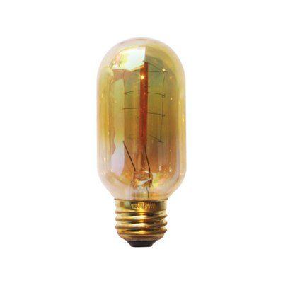 Pendulux 30w E26 Dimmable Incandescent Edison Light Bulb Amber Bulb Dimmable Light Bulbs Light Bulb