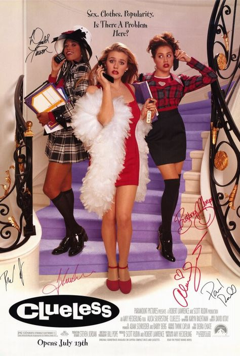 Alicia Silverstone, Stacey Dash, Brittany Murphy, and Elisa Donovan in Clueless