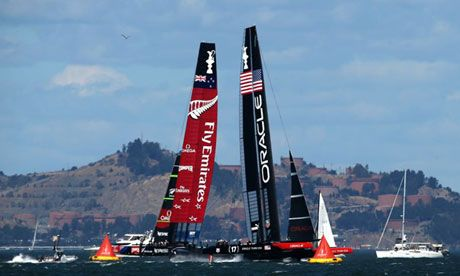 America's Cup: Sir Ben Ainslie's Oracle Team USA clinches stunning comeback