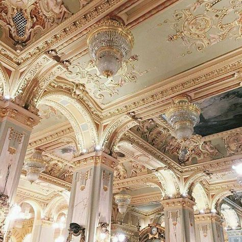 Architecture, art, and aesthetic image Architecture Baroque, Beautiful Architecture, Beautiful Buildings, Architecture Design, Beautiful Places, Classic Architecture, Ancient Architecture, Bild Gold, Art Vintage
