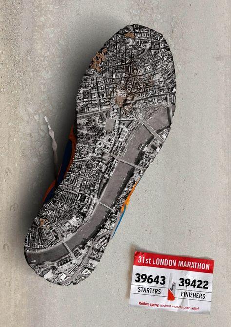Reflex Spray: London Marathon