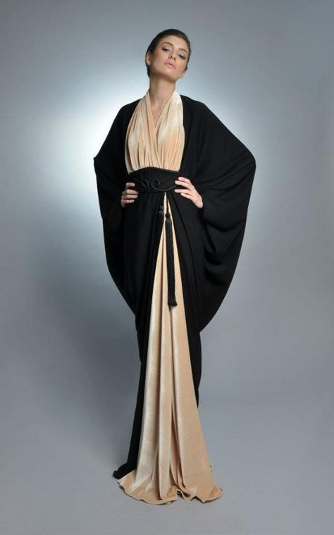 Trendy Abaya Fashion with PHOTOGRAPHS of Beautiful Gowns with Hijabs - Trendy, stylistic, fashionable and Beautiful collection of Abaya gowns, kaftan and hijabs for all the Muslim women out there who want to wear the hijab Abaya Designs, Islamic Fashion, Muslim Fashion, Modest Fashion, Abaya Style, Muslim Dress, Hijab Dress, Swag Dress, Black And White Outfit