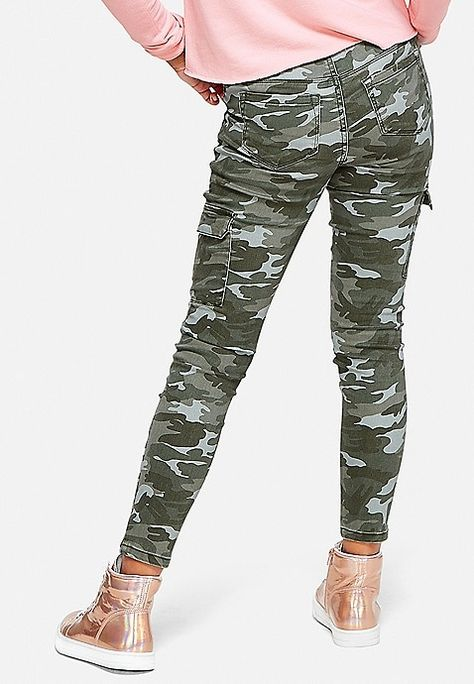 Justice is your one-stop-shop for on-trend styles in tween girls clothing & accessories. Shop our Camo Pull On Cargo Pants.