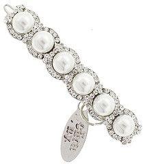 Pearl And Diamond Wedding Band Is This Real Life Pinterest Weddings Princess