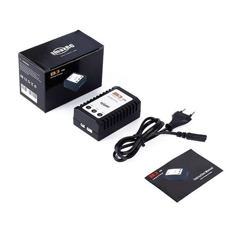 iMaxRC iMax B3 Pro 2S 3S Lipo Battery Balance Charger For RC Helicopter US Plug